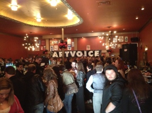 Artvoice Best of Buffalo 2013 party at Town Ballroom