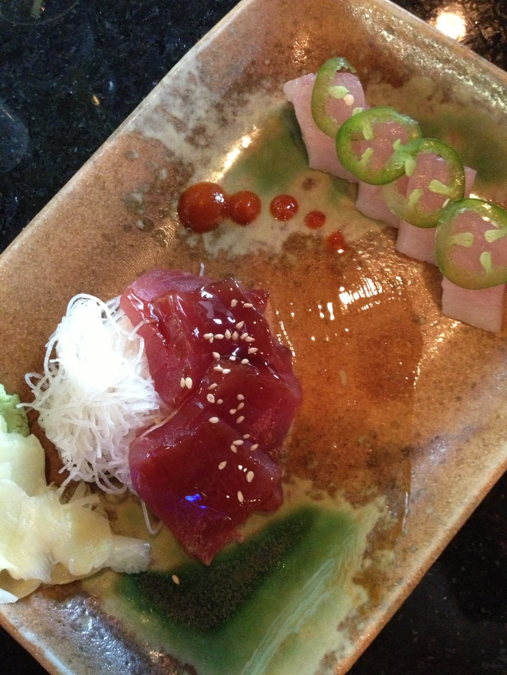 chef's pick at the sushi bar