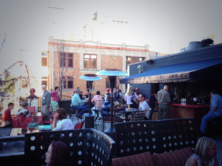 rooftop seating, just for the Dishcrawl