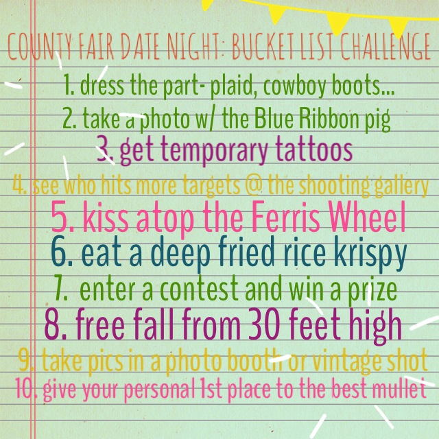 county fair challenge