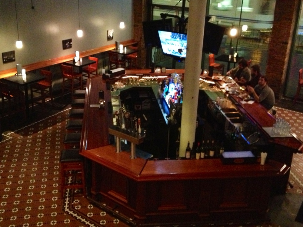 bar from mezzanine