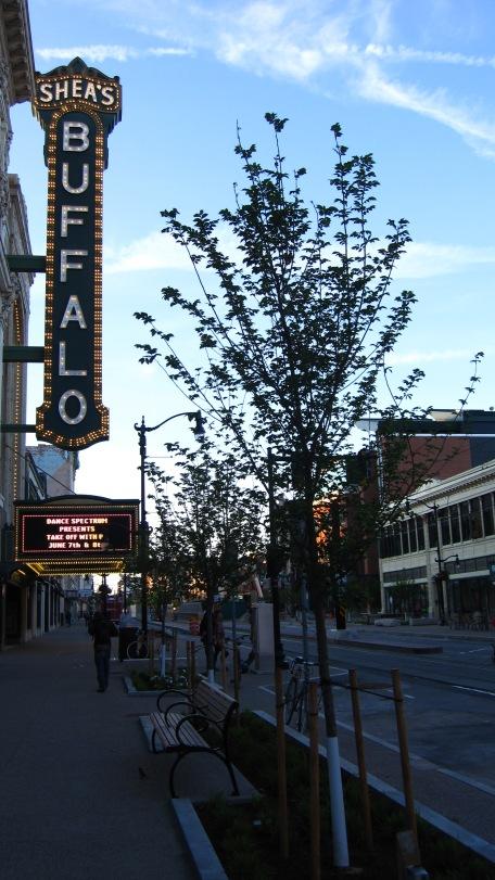 Main St., Buffalo - revived