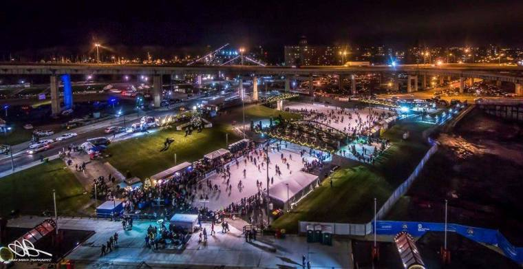 Canalside Ice Rink (photo by Insta user: @jordanschneider1
