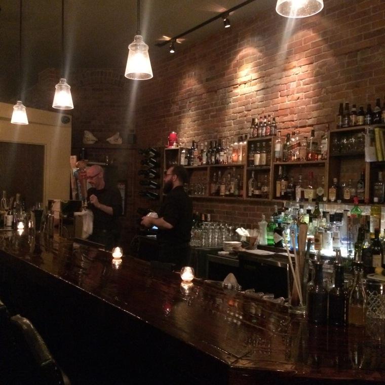 inside//the bar
