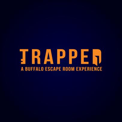 trapped logo