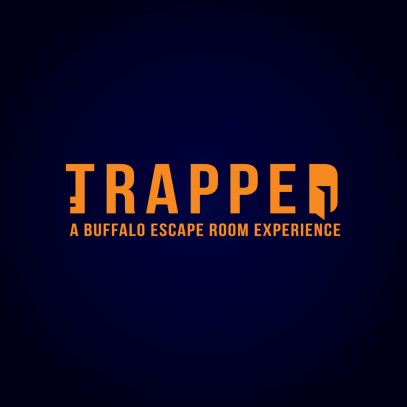 trapped logo
