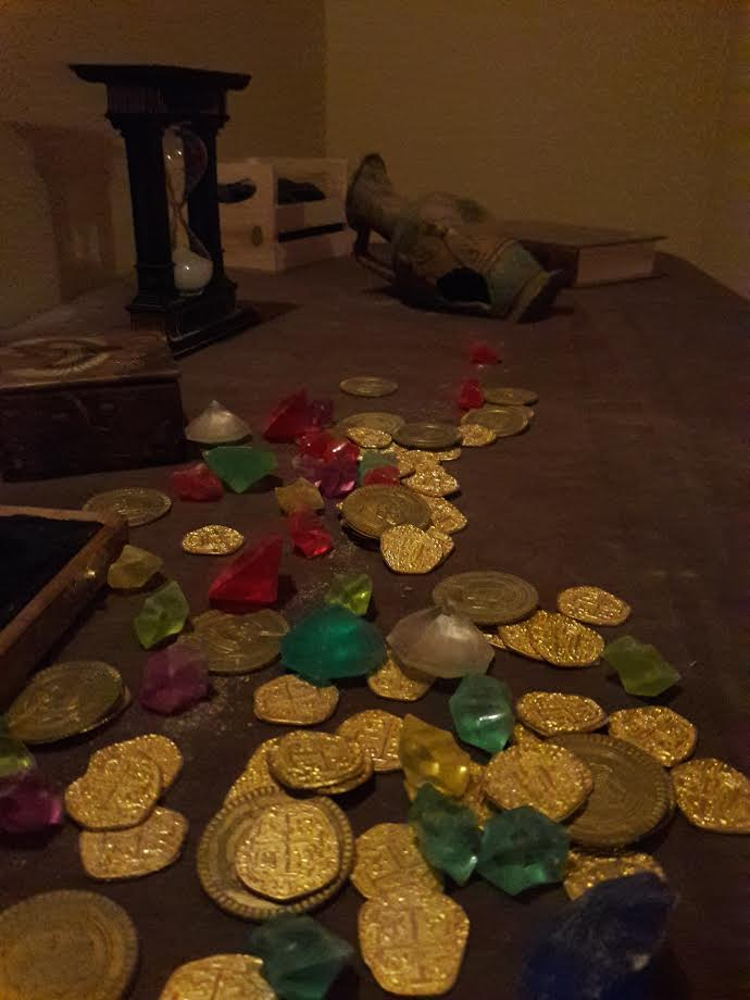 trapped tomb coins